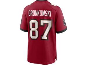 Nike Tampa Bay Buccaneers Rob Gronkowski Men's Game Jersey