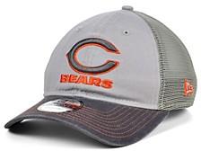 Chicago Bears Gray Pop Trucker 9TWENTY Cap