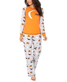 Matching Women's Spooky Sketchy Halloween Family Pajama Set
