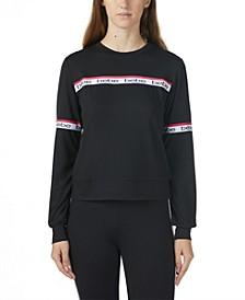 Women's Logo Side Stripe Long Sleeve Sweatshirt (62% Off) -- Comparable Value $79