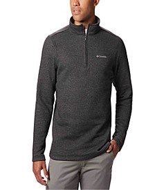 Men's Big and Tall Great Hart Mountain Half-Zip Fleece Sweatshirt