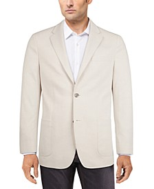 Men's Modern-Fit Solid Knit Sport Coat