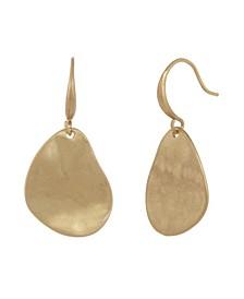 Gold-Tone Drop Earrings