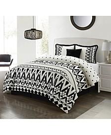 America Petula 5 Piece Comforter Set, Queen