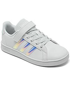 Little Girls Grand Court Stay-Put Casual Sneakers from Finish Line