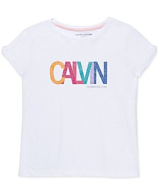 Big Girls Rainbow Logo T-Shirt