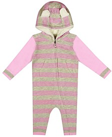 Earth Organic Baby Girl 1-Piece Shannah Coverall