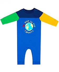 Earth Organic Baby Boy 1-Piece Mike Coverall