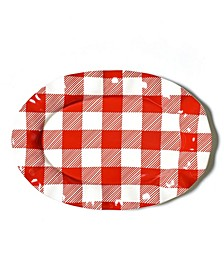 Buffalo Ruffle Oval Platter
