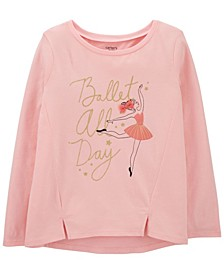 Big Girl Ballerina Jersey Tee