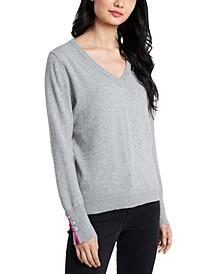 Clara V-Neck Sweater, Created For Macy's