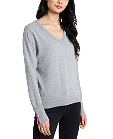 Riley & Rae Clara V-Neck Sweater, Created For Macy's
