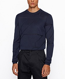 BOSS Men's T-Milan Italian-Silk Sweater