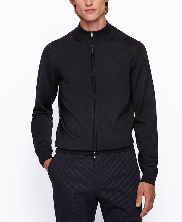 Hugo Boss BOSS Men's Balonso Zip-Through Cardigan