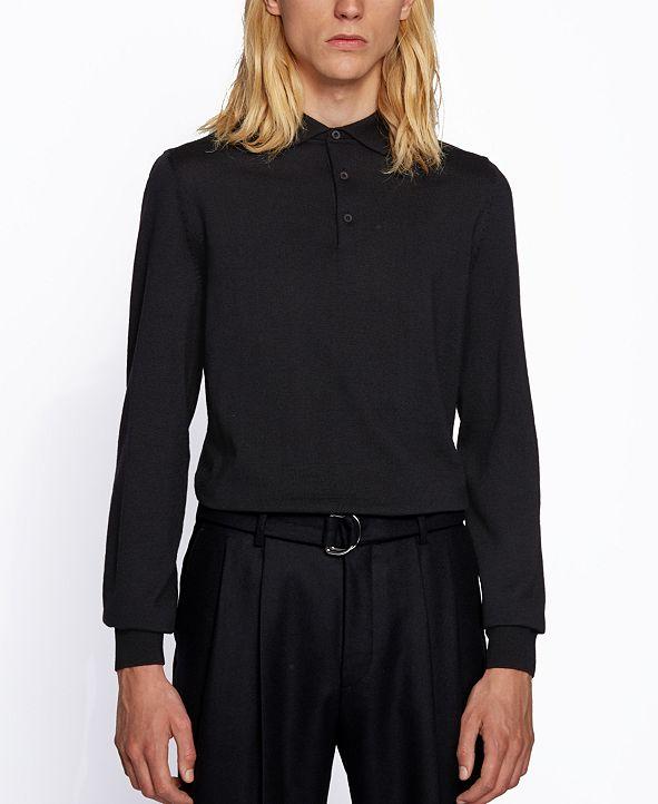 Hugo Boss BOSS Men's Bono Polo-Collar Sweater