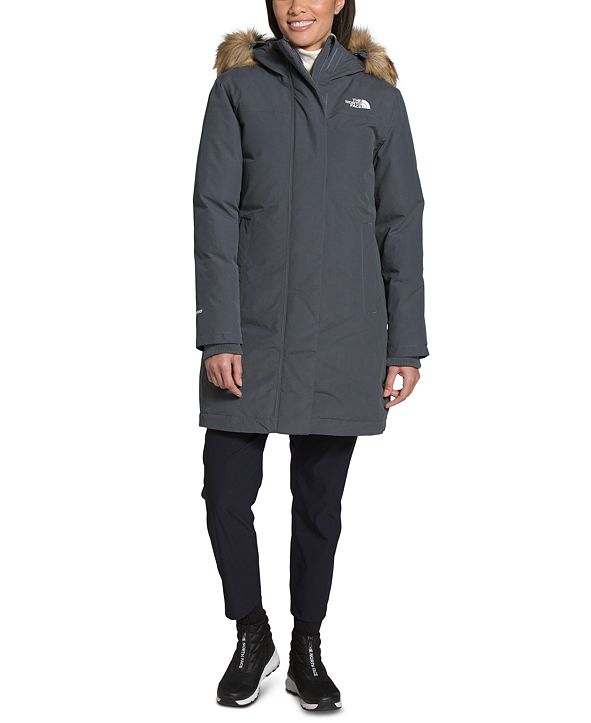 The North Face Women's Arctic Hooded Faux-Fur-Trim Parka