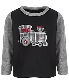 Baby Boys Train Engine Fr Terry Tee, Created for Macy's