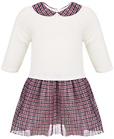 Baby Girls Layered Dress Set, Created for Macy's