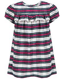 Baby Girls Tartan Plaid Dress, Created for Macy's