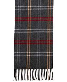 Mid Weight Cozy Plaid Muffler Scarf