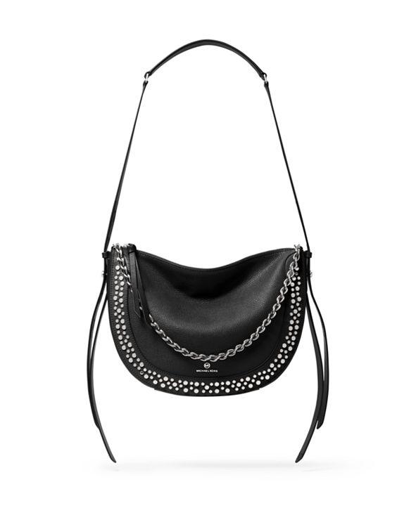 Michael Kors Jagger Leather Messenger Bag
