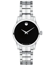 Women's Swiss Stainless Steel Bracelet Watch 28mm