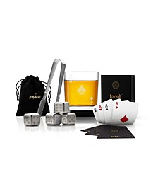 Poker Jack of Spades Whiskey Gift Set