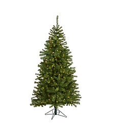 Springfield Artificial Christmas Tree with 300 Warm Clear Lights and 596 Tips