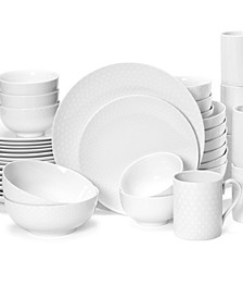 Casual China 40-Pc. Dinnerware Set Collection