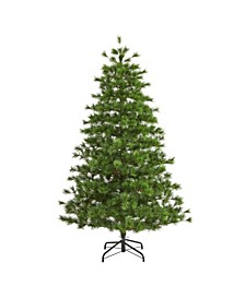 Yukon Mixed Pine Artificial Christmas Tree with 1104 Bendable Branches