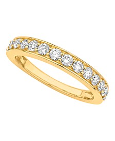 Certified Diamond Pave Band 3/4 ct. t.w. in 14k White or Yellow Gold