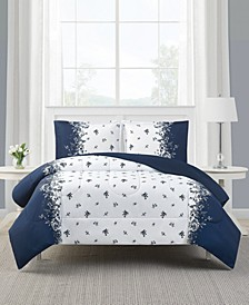 Toile Stripe 2-Pc. Reversible Twin Comforter Set, Created for Macy's