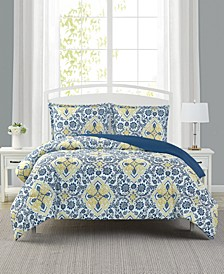 Deena 3-Pc Comforter Set