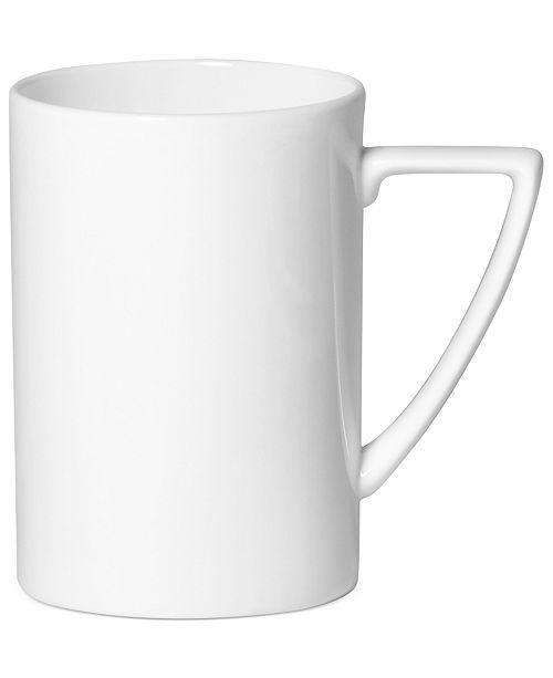 Mikasa Dinnerware, Modern White Mug