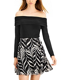 Off-The-Shoulder Bodysuit, Created for Macy's