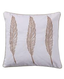 "Pisa Feather Pillow, 18"" x 18"""