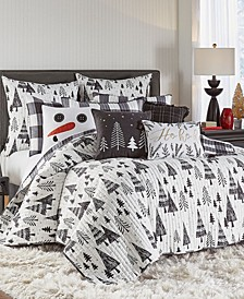 Northern Star Quilt and Sham Collection