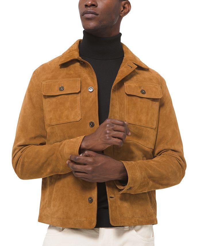 Michael Kors - Men's Suede Shirt Jacket