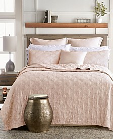 Washed Linen Quilt, King
