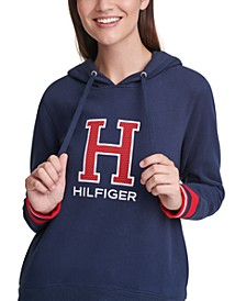 Varsity Letter Hooded Sweatshirt