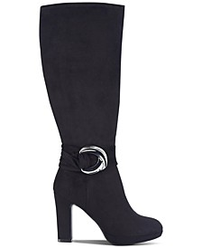 Obia Wide-Calf Dress Boots