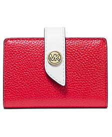 MK Charm Small Tab Card Case