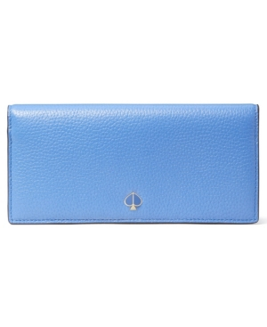 Kate Spade KATE SPADE NEW YORK POLLY BIFOLD CONTINENTAL LEATHER WALLET