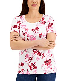 Garden Gift Printed Top, Created for Macy's