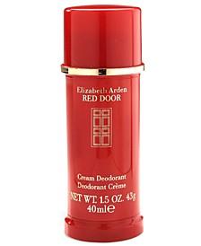 Red Door Cream Deodorant, 1.5 oz.