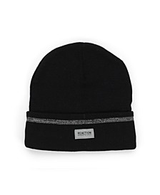 Men's Reflective Stripe Beanie