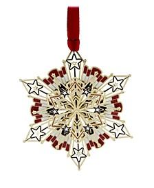 Americana Snowflake Ornament