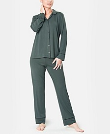 Ultra Soft Notch Collar Women's Pajama Set