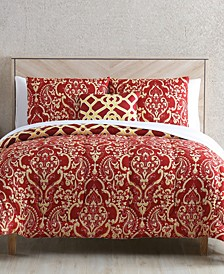 Berrian 12-Pc. Reversible Queen Comforter Set