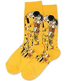 Women's Klimt's The Kiss Crew Socks